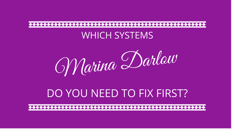 You Are in a Mess  You Need Systems  Which Systems Do You Fix First?