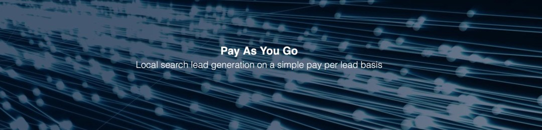 Pay As You Go, eSales Hub, Local Search, SME