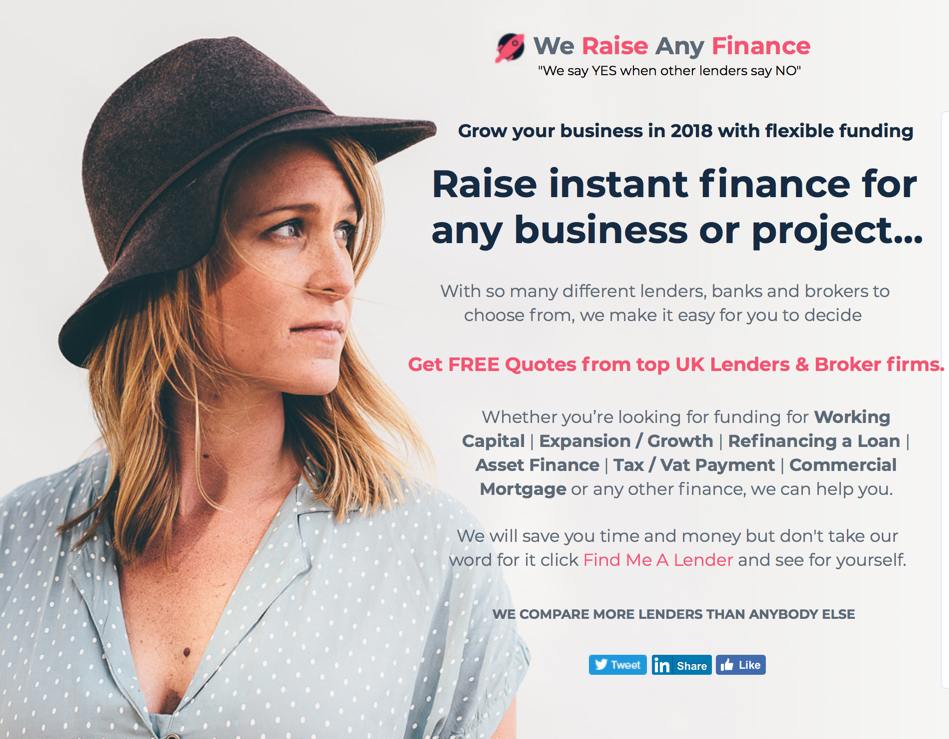 We Raise Any Finance, Working Capital, Business Finance, VAT Finance, The Next 100 Days Podcast