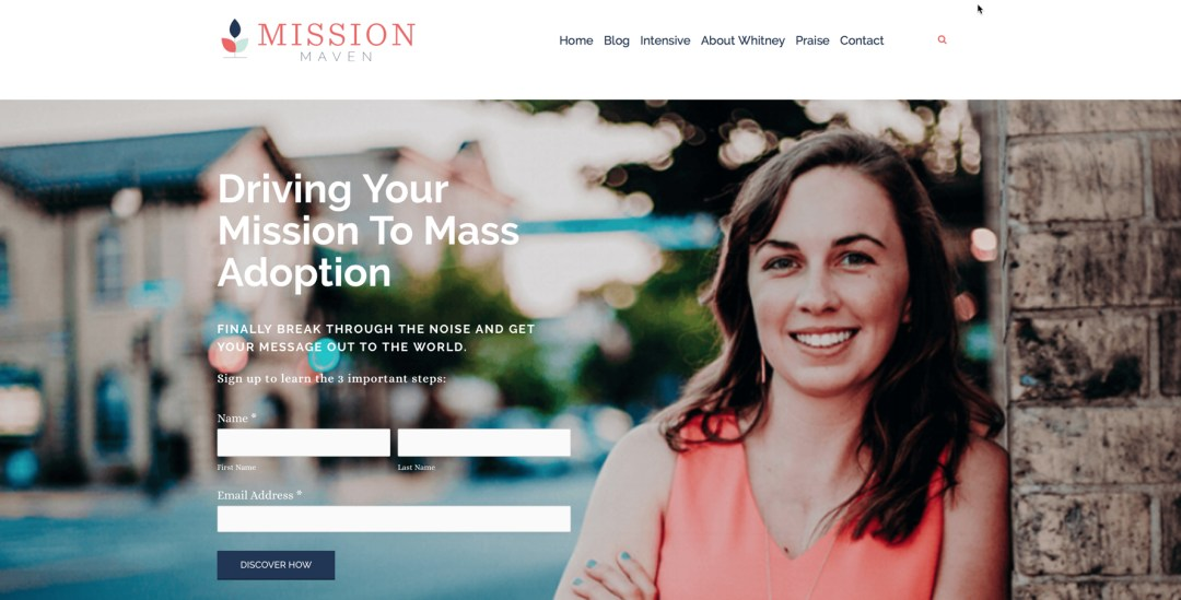 Mission Maven, Whitney Cole, Health Tech, The Next 100 Days Podcast
