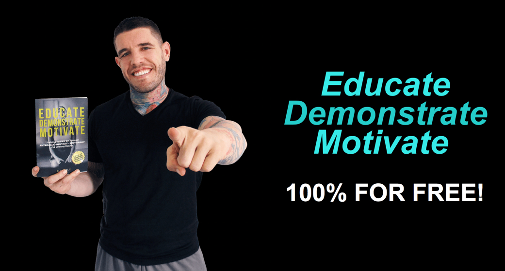 Workout, Jay Kali, The Next 100 Days Podcast, Educate Demonstrate Motivate