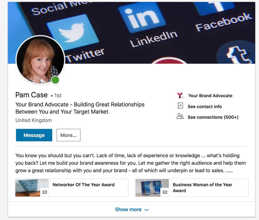 Pam Case, The Next 100 Days, LinkedIn