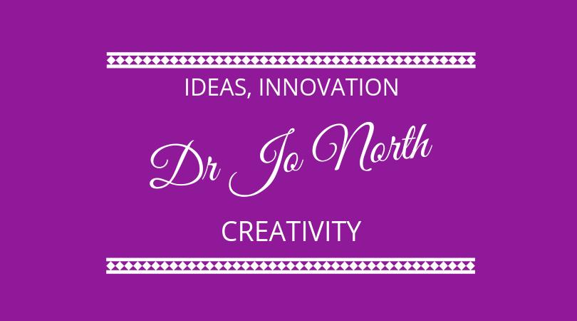 #155 Dr Jo North – Innovation, Ideas and Creativity