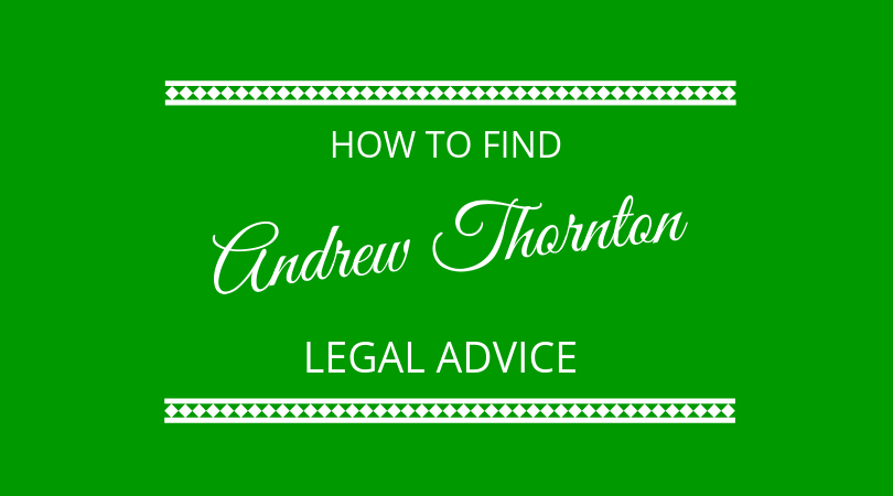 #157 Andrew Thornton – Legal Services