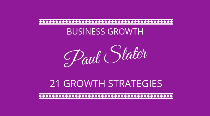 Business growth strategies with Paul Slater of The Growth Shed on The Next 100 Days Podcast
