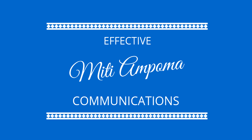 #168 Miti Ampoma – Effective Communication