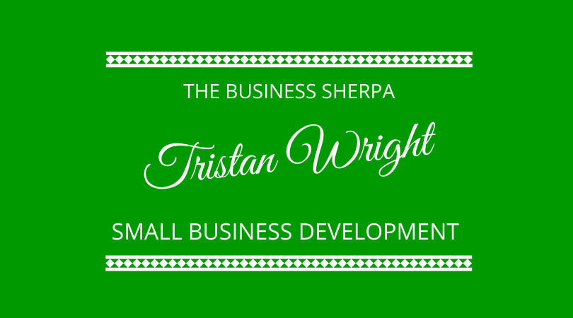small business development with Tristan Wright The Business Sherpa on The Next 100 Days Podcast