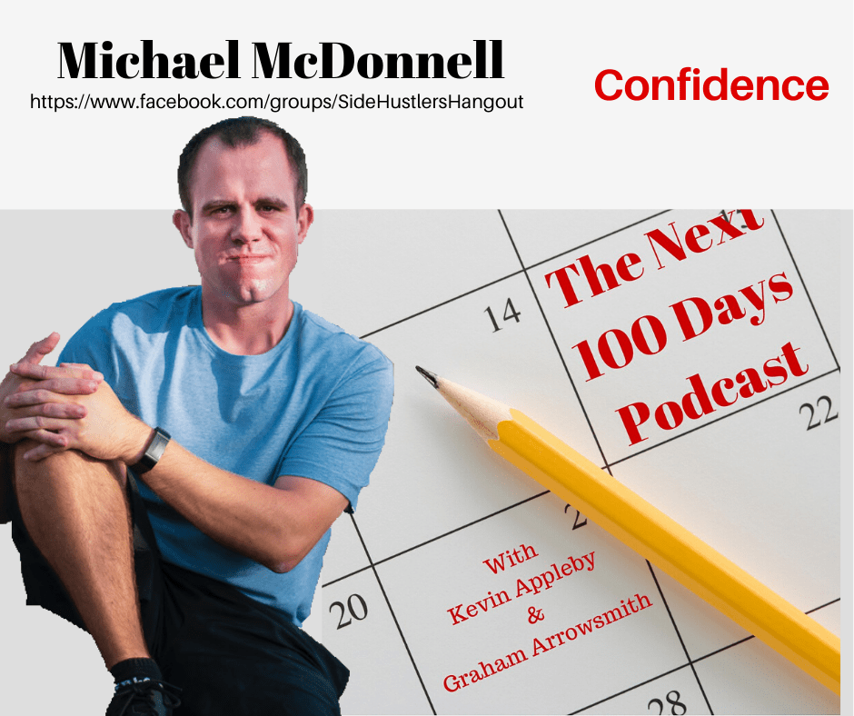 Michael McDonnell on The Next 100 Days Podcast with hosts Graham Arrowsmith and Kevin Appleby