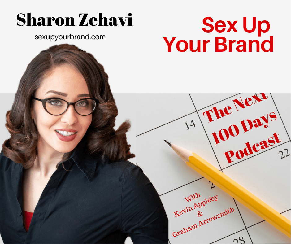 Sharon Zehafi on the next 100 days podcast