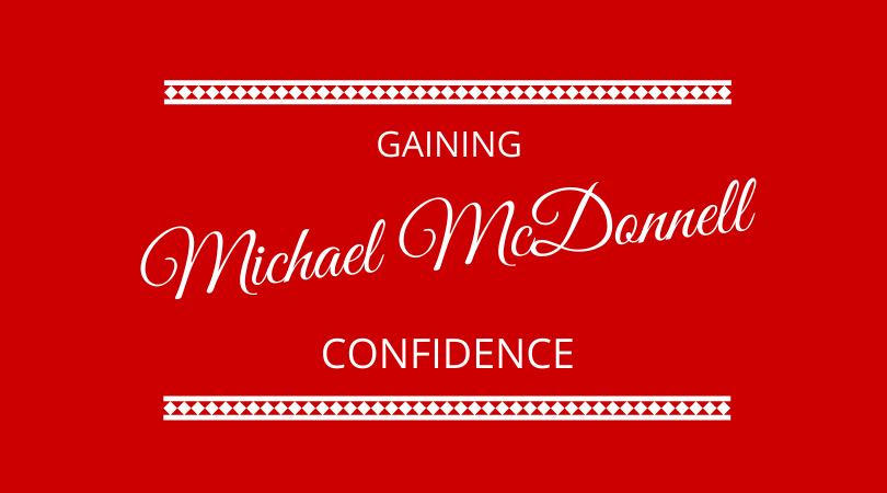 Confidence with Michael McDonnell on The Next 100 Days Podcast