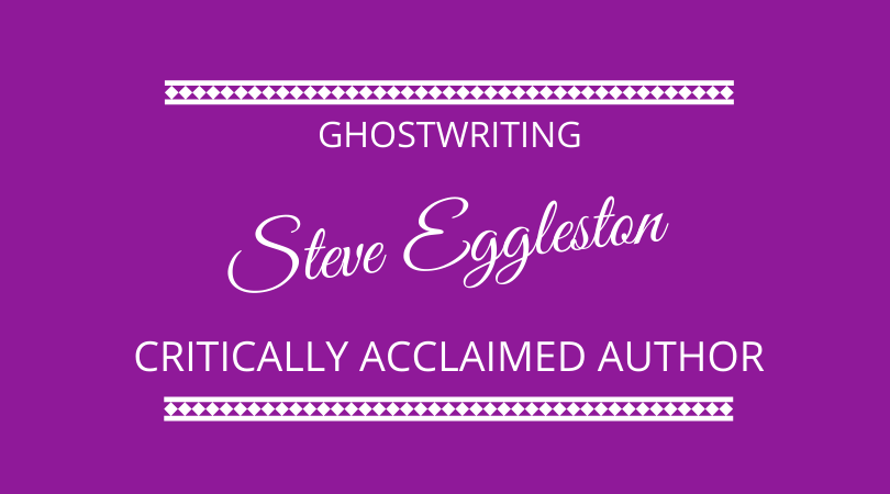 Ghostwriting with critically acclaimed author Steve Eggleston on The Next 100 Days Podcast