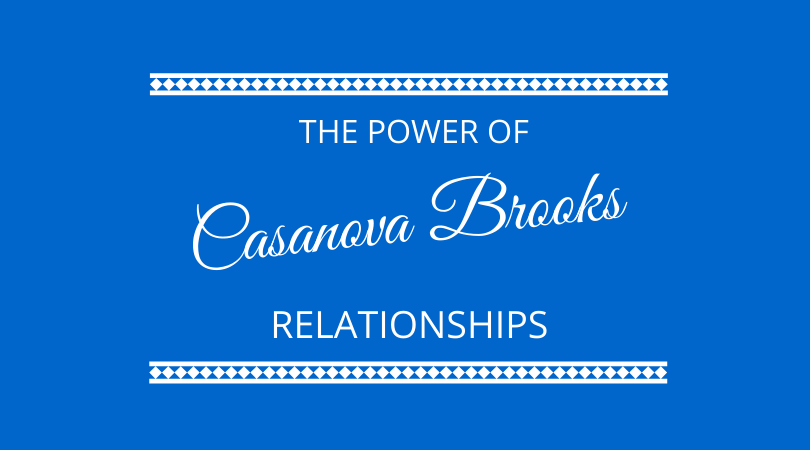 The power of relationships with Casanova Brooks on The Next 100 Days Podcast