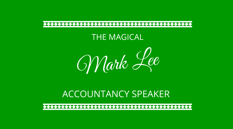 The magical accountancy speaker with Mark Lee on The Next 100 Days Podcast