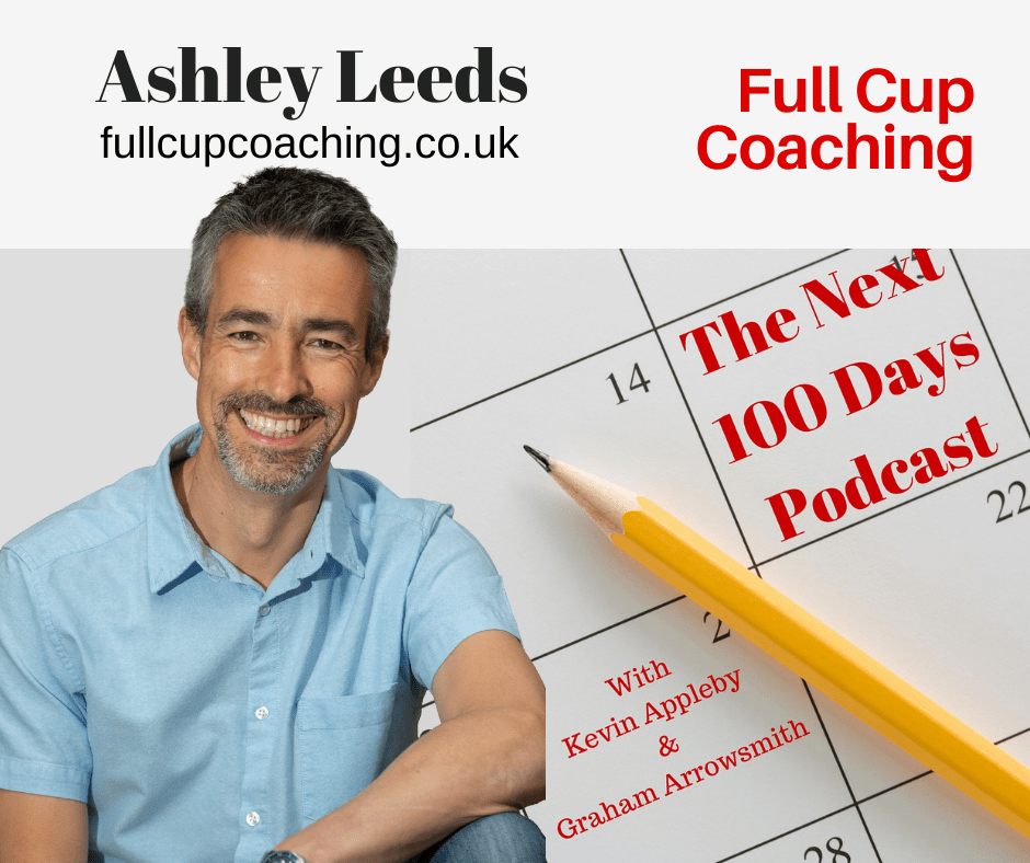 LinkedIn in 15 Minutes, Ashley Leeds, The Next 100 Days Podcast