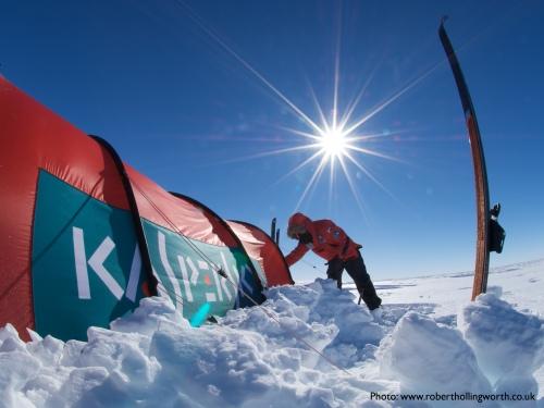 Commonwealth Women's Antarctic Expedition (Photo: Robert Hollingworth)