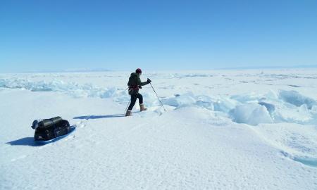 Crossing Lake Baikal