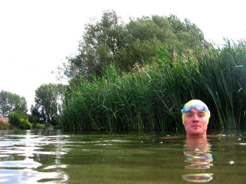 Each swim...