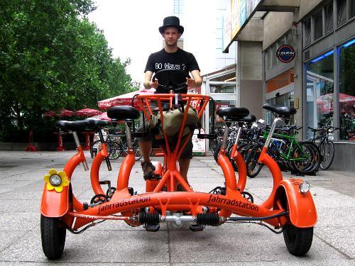 7-seat conference bike in Berlin