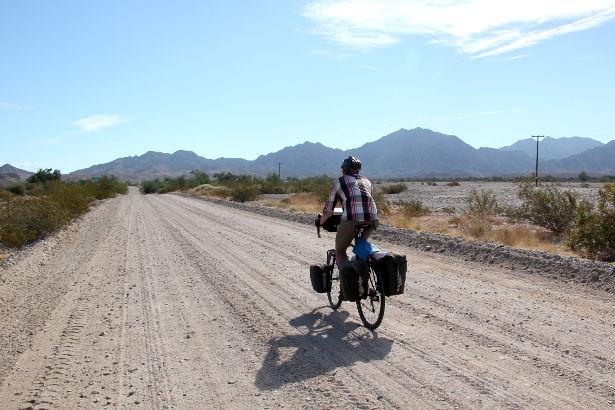 Cycling in the Arizona desert
