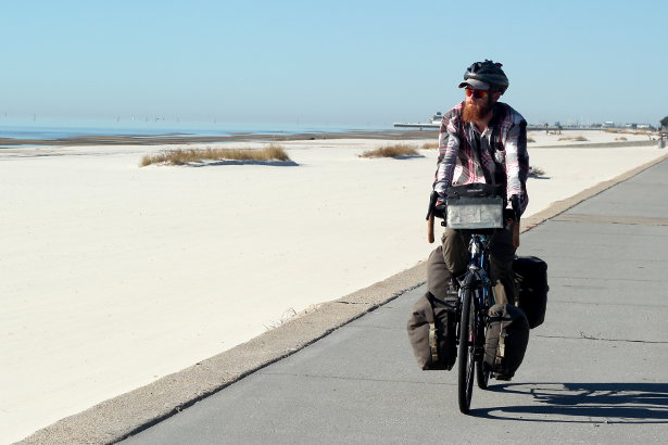 Cycling the Mississippi Coast