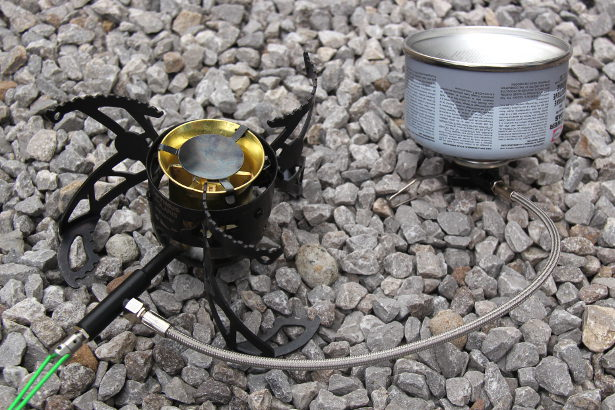 Optimus: Polaris Optifuel Stove - Four Season Gas Mode