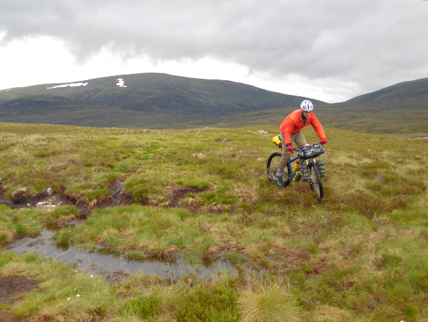 Bikepacking across the Cairngorms