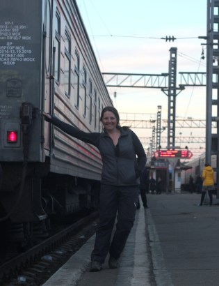 The Trans-Siberian railway