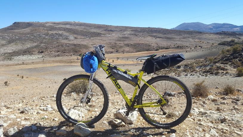 Bikepacking Anadusia (GR247) - Megan Cumberlidge