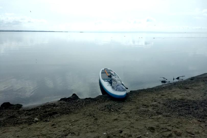 Joanne McCallum - SUP Lough Neagh - Ballyronan Crossing