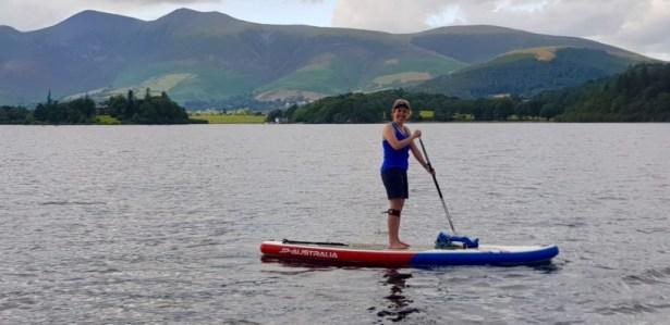 Katie Marston - Paddling nine Lake District lakes