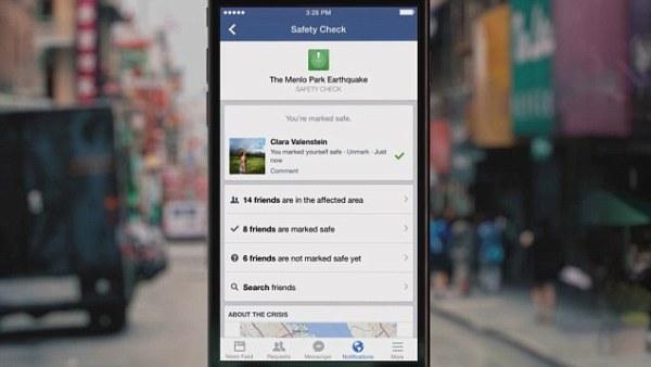 """""""facebook's safety check"""""""