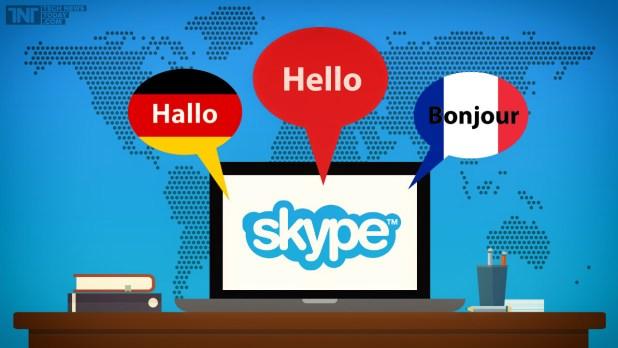 skype languages