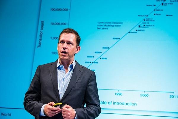 Peter Thiel talking