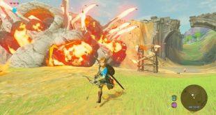 """""""Legend of Zelda : Breath of the Wild"""" screenshot in-game"""