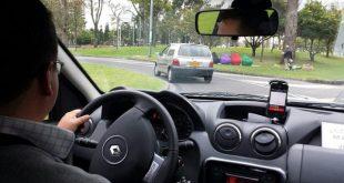 Uber driver in Bogota