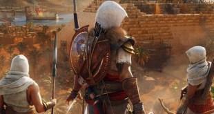A screenshot from Assassin's Creed Origins: The Hidden Ones