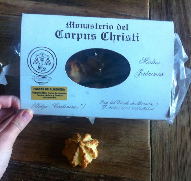 The storied almond cookies from the cloistered nuns.