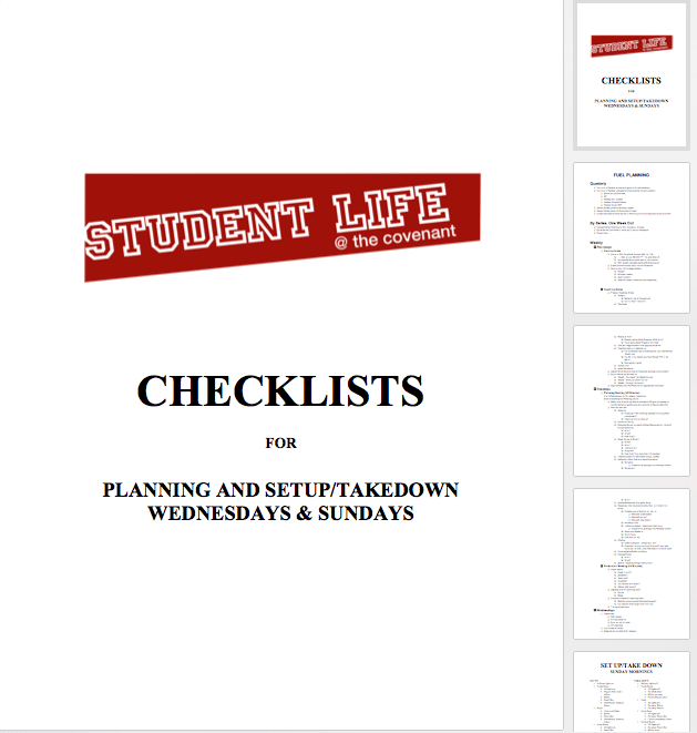 sl-checklists