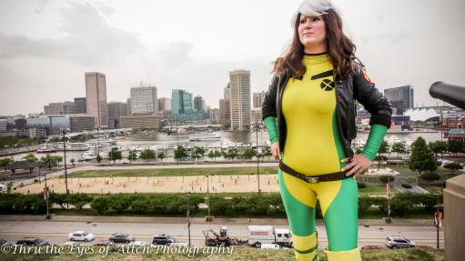 Facebook page RogueEmpress - https://www.facebook.com/RogueEmpress1/ Instagram @AlleyShop9 I have been cosplaying for over 8 years now. Rogue was my first and favorite. She has been revamped over the years to be my go to cosplay. I have always recognized with her strengths and her struggles. Cosplay is a fun way for me to be creative and play. After all, cosplay has the word 'play' in it.