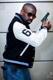 """I have cosplayed since 2011. I enjoy cosplay mostly for the photography opportunities and interaction with the kids. I'm planning to bring the classic characters back as you see here. I love the feedback I receive from that. """"You're not a Lions Fan, you're Axel Foley! """""""