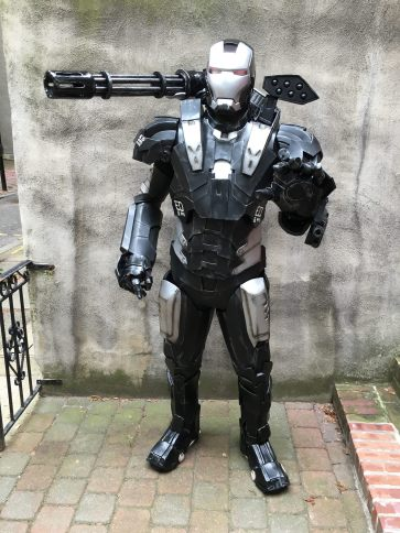 Facebook Page: https://www.facebook.com/PhillipTheShyCosplayGuy/ Cosplay in 2016 was about me enjoying myself and not getting caught up in the drama that seems to go along with it. Also I enjoyed doing my charity work which brought smiles to kids' faces. That was what cosplay 2016 was about for me and will be again in 2017.