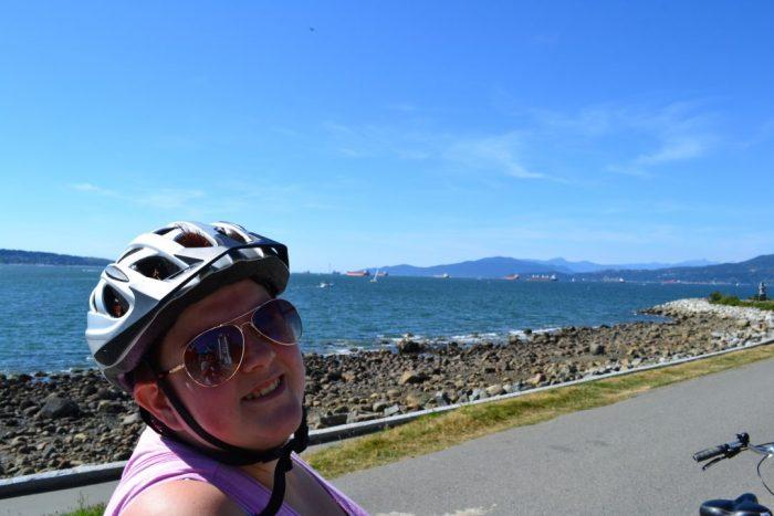 Ruta en bici por Vancouver