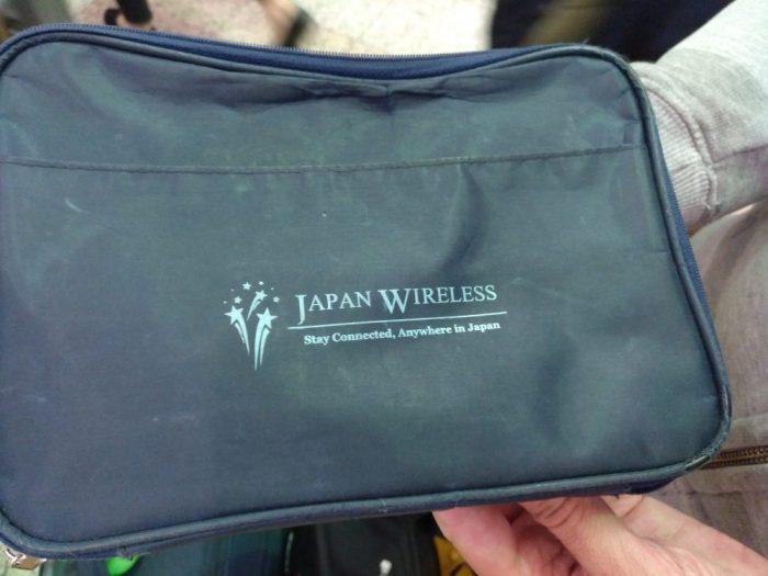 Cómo usar el pocket WiFi en Japón
