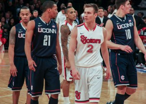 Former St. John's sharpshooter Marc-Antoine Bourgault is back home playing professionally in France