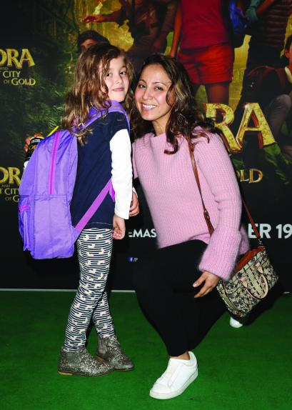 SYDNEY, AUSTRALIA - AUGUST 31: Guests attend the DORA AND THE LOST CITY OF GOLD Special Family Preview Screening at HOYTS Entertainment Quarter on August 31, 2019 in Sydney, Australia. (Photo by Brendon Thorne/Getty Images for Paramount Pictures)