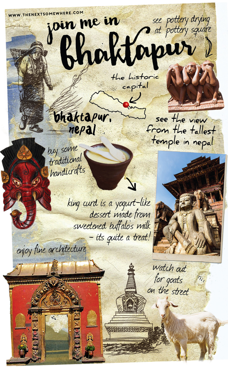 bhaktapur whereabouts things to do