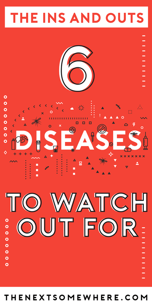 6 World Diseases To Watch Out For with @The Next Somewhere