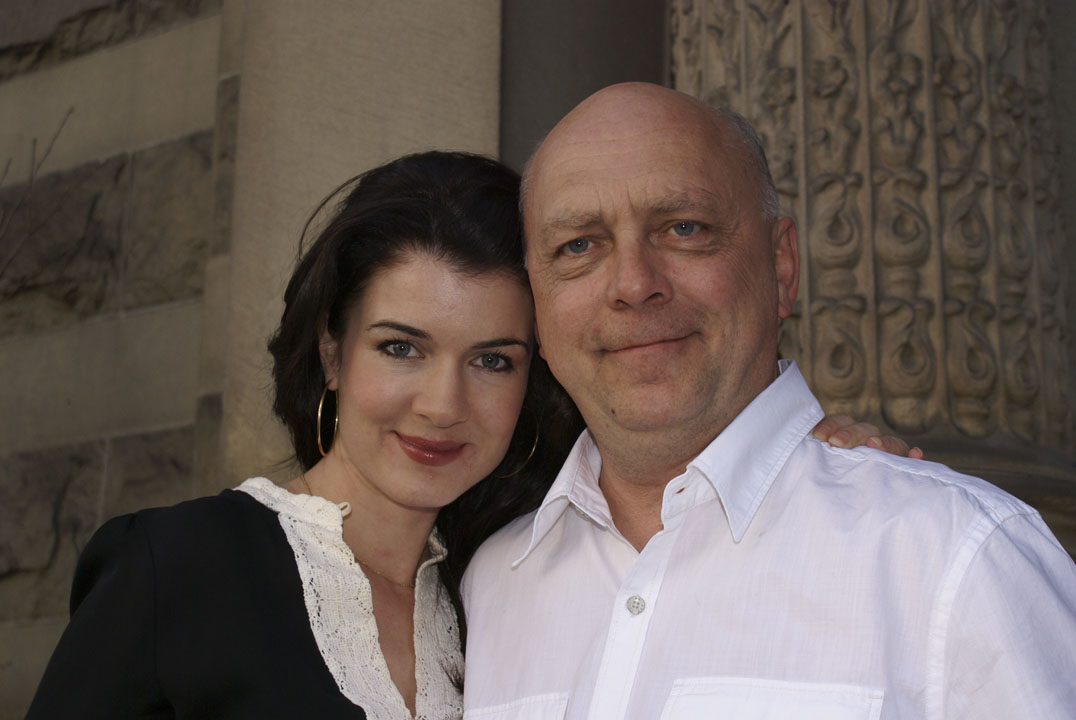 Photo of Gabrielle Miller and Patrick McDonald by Mark S. Bencito