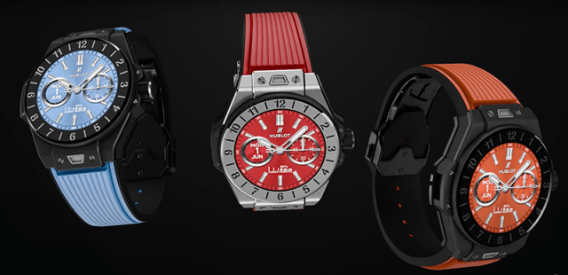 Hublot Reveals New 'BIG BANG e' Smartwatch Supporting Scratch-proof, 30m Water-Resistant AMOLED Touchscreen