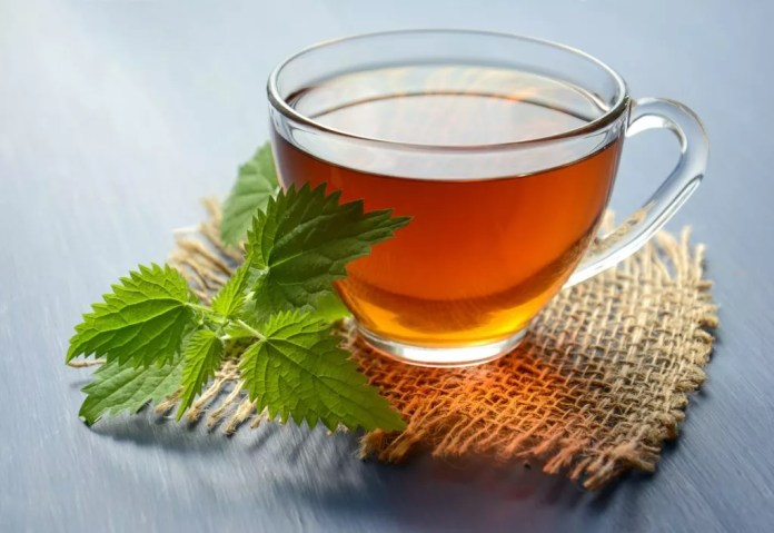 A cup of peppermint tea can relieve cramps
